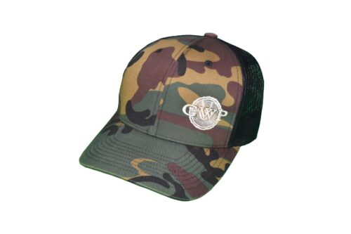 GWP Camo Hat White Logo