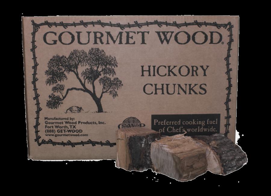Kiln dried hickory chunks