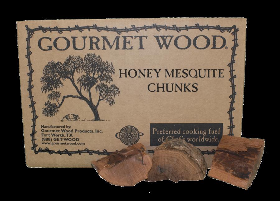 honey mesquite chunks
