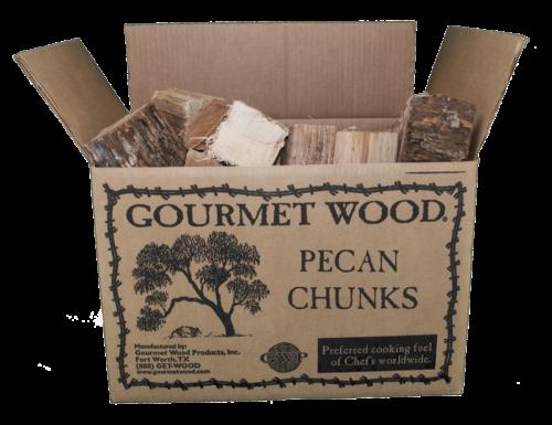 Kiln dried pecan chunks